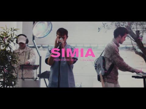 Youtube: SIMIA – PEUR D'ÊTRE SEUL (live session)