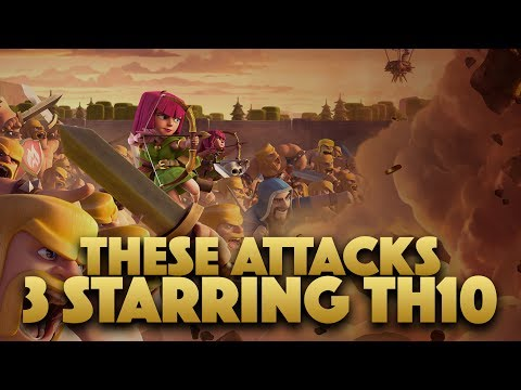 These Strategies 3 Starring TH10 | Clash Of Clans