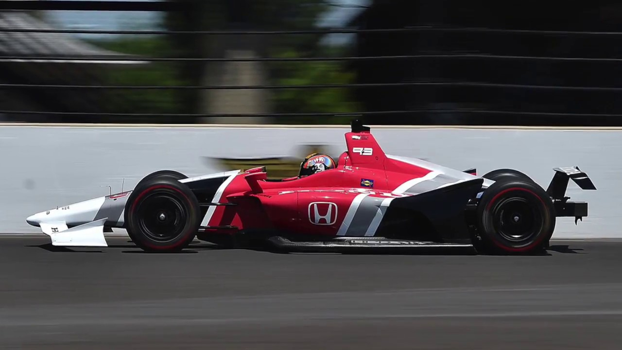 First Test For Indycar S 2018 Spec Car
