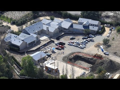 Kim Kardashian And Kanye West Dig A Deep Pond On Their Calabasas Estate