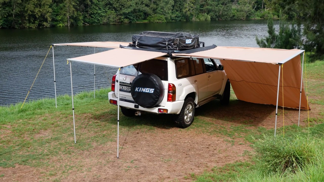 Start Building Your Dream Campsite With A Kings Awning