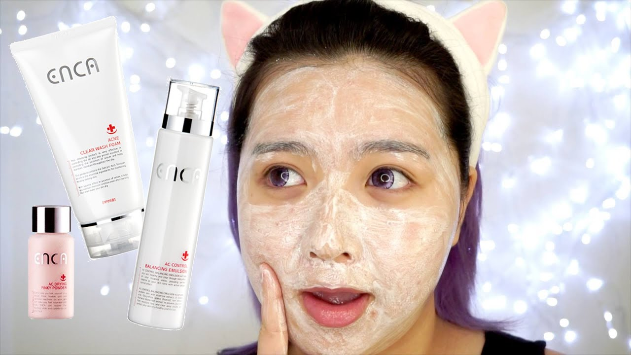 Skincare routine for acne prone skin korean