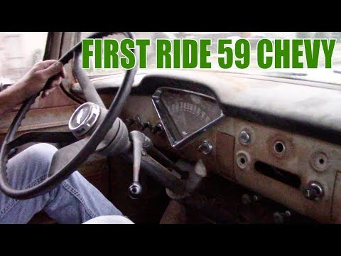 59 Chevy Apache First Drive