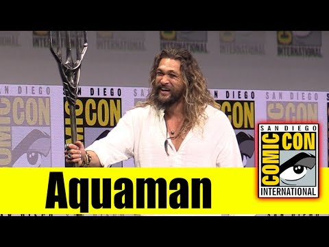 Download Youtube: AQUAMAN | Comic Con 2017 Full Panel (Jason Momoa)