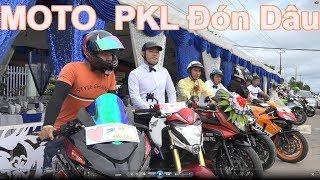 #TayNinhPKL - (TNP25)  Dàn MOTO rước dâu tại TayNinh