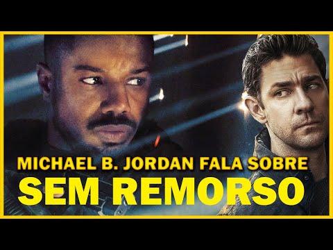 Michael B. Jordan fala sobre o SENSACIONAL 'Sem Remorso', e possível crossover com o Jack Ryan