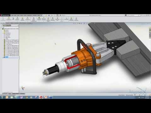Motor Sizing for Mechanisms with SOLIDWORKS Simulation