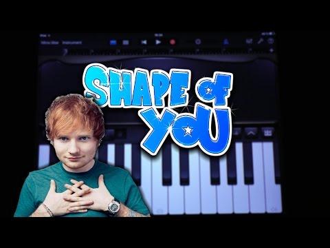 Ed Sheeran - Shape Of You (GARAGEBAND TUTORIAL)