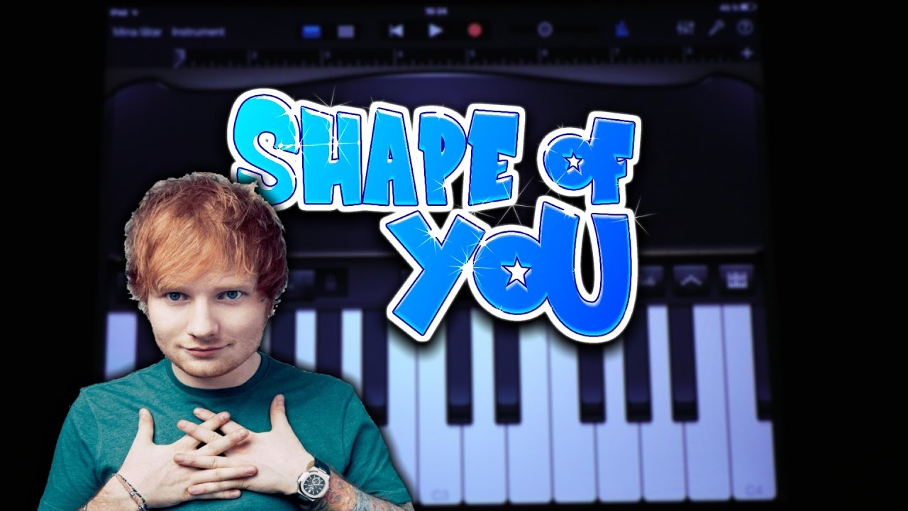 shape of you chords pdf