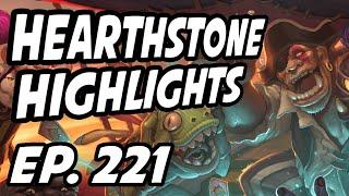 Hearthstone Daily Highlights | Ep. 221 | bmkibler, Savjz, nl_Kripp, DisguisedToastHS, itsHafu