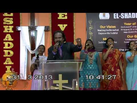 EL-SHADDAI MINISTRIES SINGAPORE - EASTER SERVICE 2013