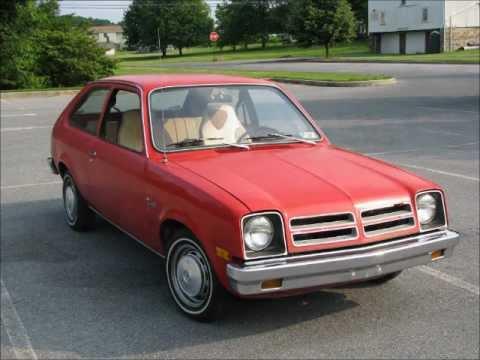 1977 Chevette Sunday Drive