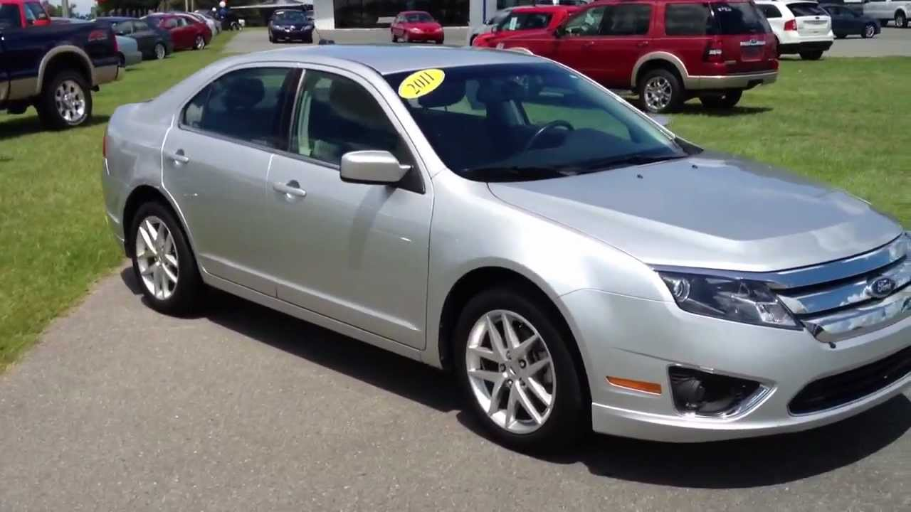 2011 ford fusion ingot silver sel for sale - youtube