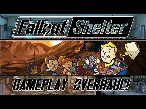 FALLOUT SHELTER BIG UPDATE: New Crafting System, Barbershop, Pets & MORE!