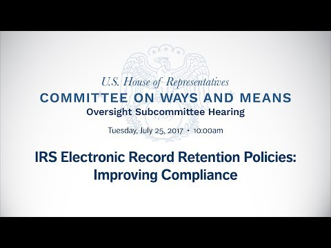IRS Electronic Record Retention Policies: Improving Compliance