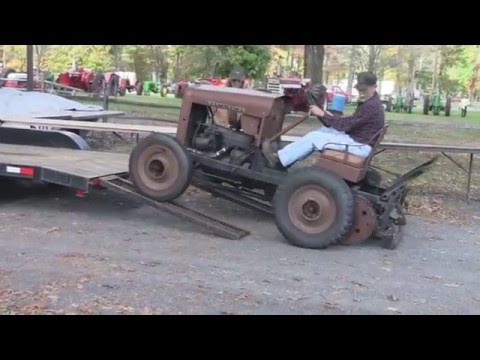 RARE WORTHINGTON GOLF COURSE TRACTORS