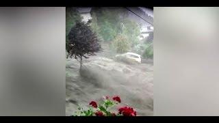 Hitzewelle bringt schwere Unwetter