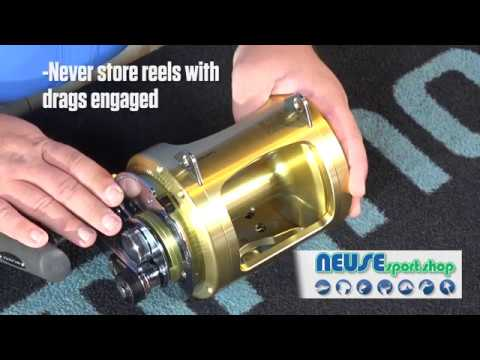 Maintaining Offshore Trolling Reels