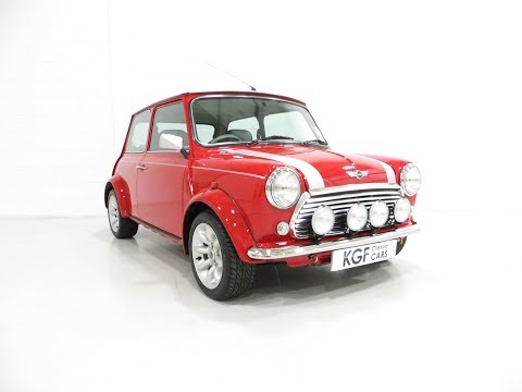 A Collectable Rover Mini Cooper Sport 500 with Just 5,791 Miles From New - SOLD!