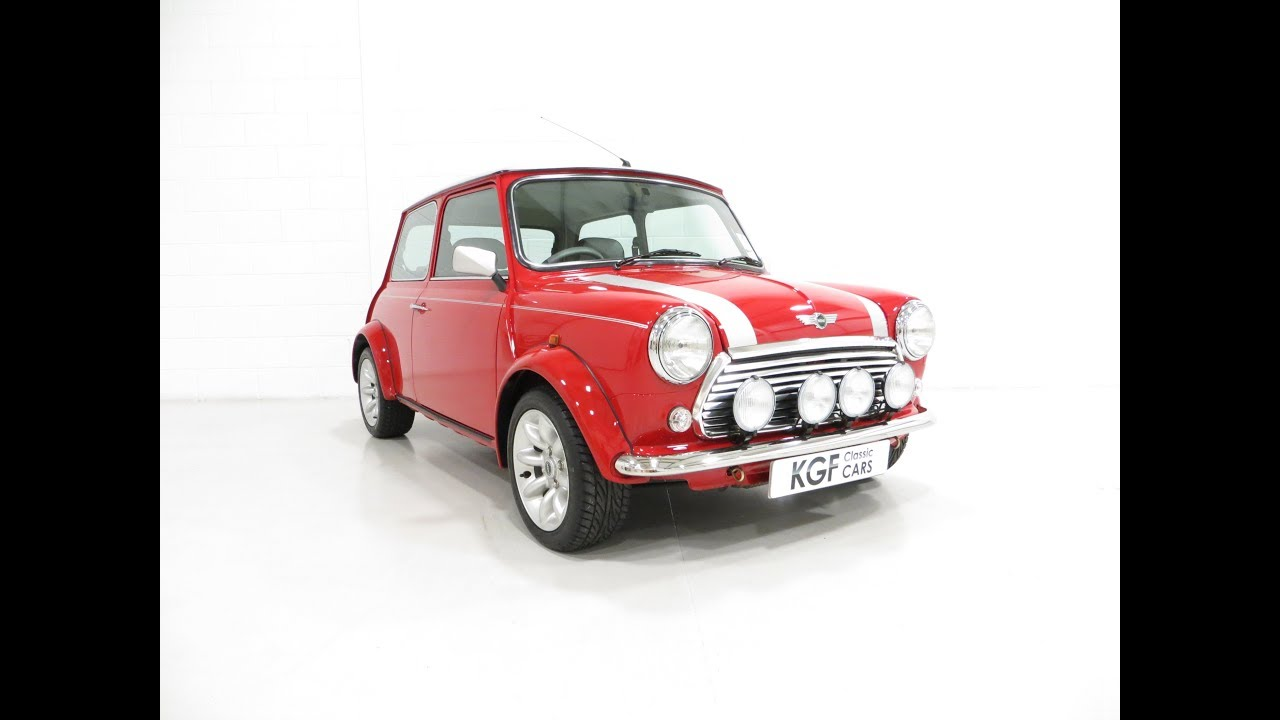 A Collectable Rover Mini Cooper Sport 500 With Just 5791 Miles From