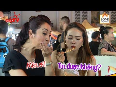 Jennifer Phạm bao Minh Hằng đi ăn hàng