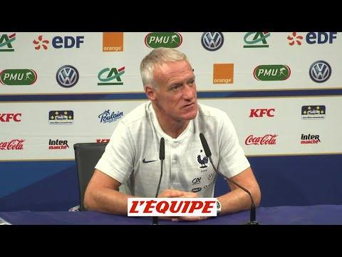 Deschamps «Aréola prendra la place de numéro » - Foot - Ligue des nations - Bleus