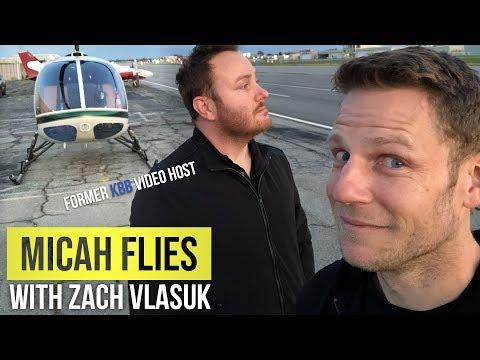 Flying with Zach Vlasuk, Former KBB Host | Micah Flies