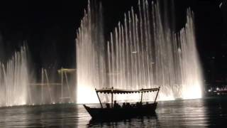 Dubai fountain December 2,2016 (dubai national day)