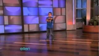 A little boy is a Dance Star (Boom boom pow)