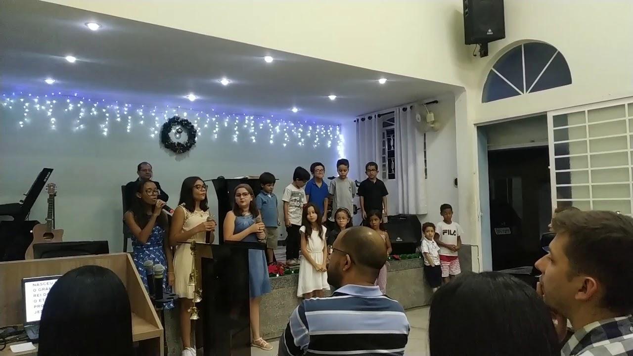 Apresentação de Natal Crianças Igreja Cristã Evangélica Independente Vila Rossi