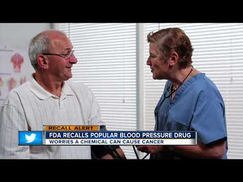 FDA recalls blood pressure, heart failure medications due to potential cancer risk