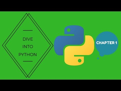 Dive into Python Chapter 1 (Mark Pilgrim)