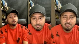 Gambar cover Honey Singh LIVE🔴 Chat With Ipsitaa || Launching First Official Poster Of First kiss