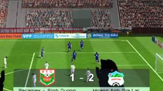 [PES6] Becamex Bình Dương VS HAGL (Euro 2012 Patch by sharp87)