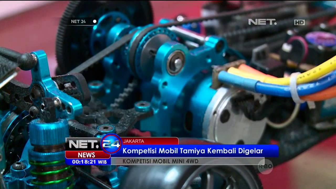 Kemeriahan Kompetisi Mobil Tamiya Di Jakarta Net24 Youtube