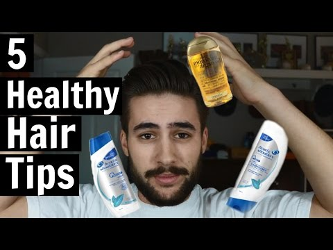 5 healthy hair tips and tricks