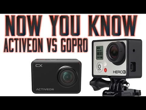 Activeon Vs Gopro - Which should you buy?