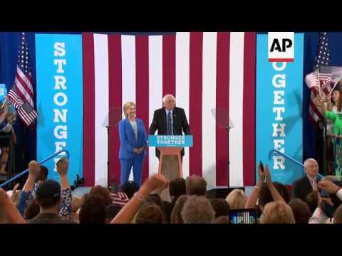 Clinton Gets Long-Awaited Sanders
