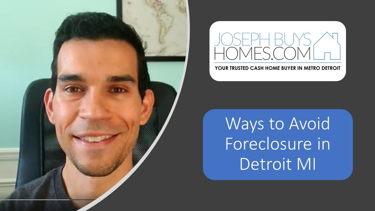 Help For Foreclosure In Detroit MI - Ways to Avoid Foreclosure | CALL 586.991.3237 | We Buy Houses