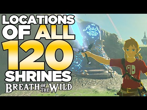 All 120 Shrines Locations In The Legend Of Zelda Breath Of
