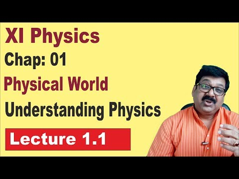 1.1, Physics world, Understanding Physics, Class 11 physics,