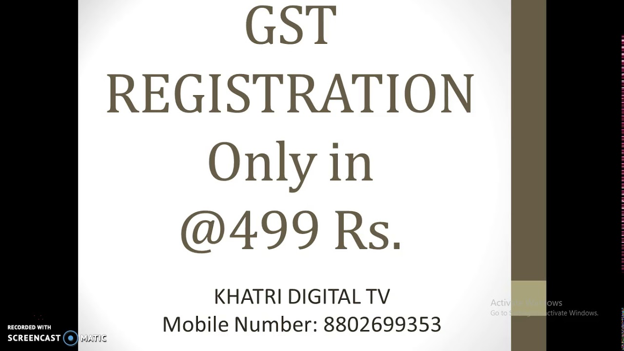 6273d7e7 GST Registration in very low cost
