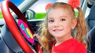 Мы в машине - Песня для детей   Детские песни от Тимы и Еси
