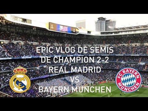 VLOG DE SEMIS DE CHAMPION REAL MADRID VS BAYERN DE MUNICH 2-2 (ESPECIAL 500 SUSB)
