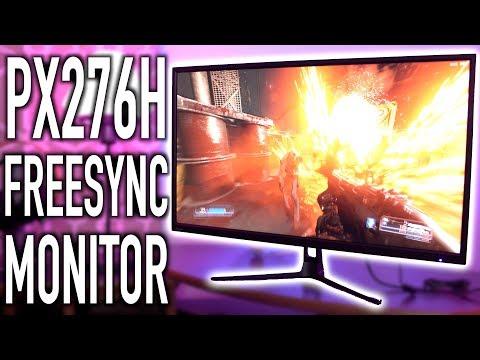 Pixio WQHD PX276H FreeSync Monitor Review!