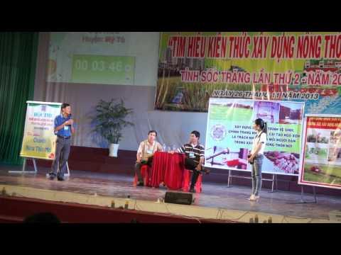 Thi Nong thon moi Tinh Soc Trang Lan 2-Don Vi Huyen My Tu