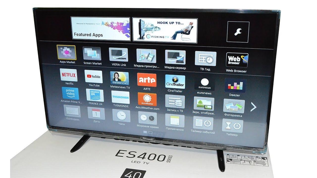 Телевизор Panasonic TX-43DR300 - YouTube
