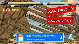 Download Naruto battle climax Mugen lite android