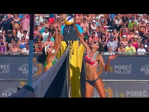 Larissa/Talita (BRA) vs. Bansley/Pavan (CAN) - Final - Women World Tour Major Porec 6.06.2015