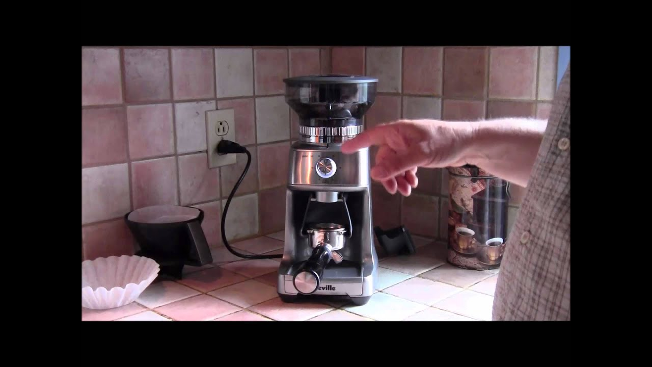 The Breville Dose-Control Pro coffee grinder. - YouTube